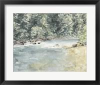 Framed Virginia Woods II