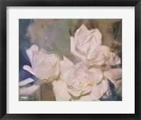 Framed Blush Gardenia Beauty II