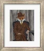 Framed Fox 1930s Gentleman