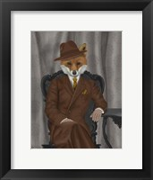 Framed Fox 1930s Gentleman