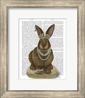 Framed Rabbit and Pearls, Full