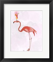 Framed Flamingo and Cocktail 4