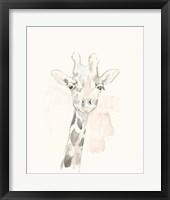 Framed Pastel Safari IV