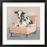 Moo-ving In II Framed Print