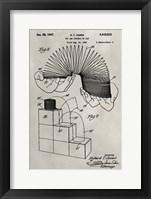 Framed Patent--Slinky