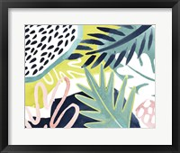 Framed Tropical Salve I