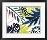 Framed Tropical Salve II