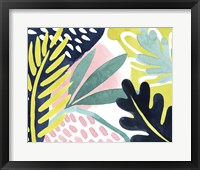 Framed Tropical Salve III