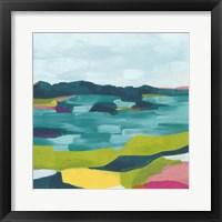 Framed Kaleidoscope Coast II