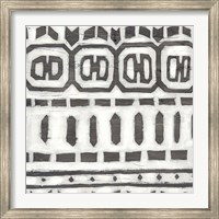 Framed Tribal Textile III
