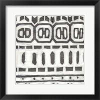 Framed Tribal Textile III