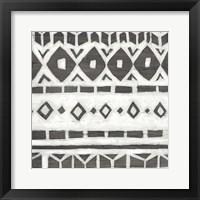 Framed Tribal Textile IV