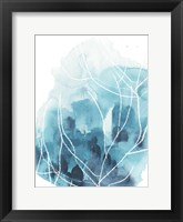 Framed Abstract Coral I