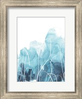 Framed Abstract Coral III