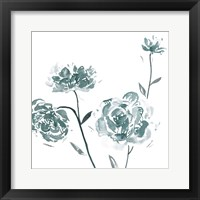 Framed Traces of Flowers III