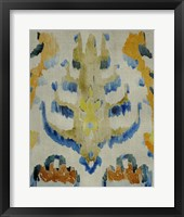 Framed Bohemian Ikat IV