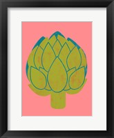 Veggie Party I Framed Print