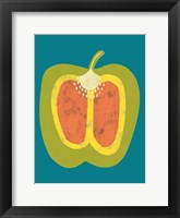 Veggie Party VI Framed Print
