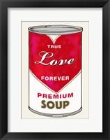Framed Love Soup
