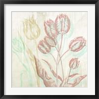 Framed Botaniques Cochin #1 (detail)