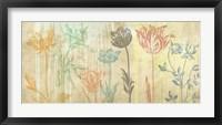 Framed Botaniques Cochin #2 (coleurs)