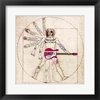 Framed De Humano Rock'n'roll (detail)