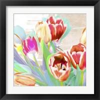 Framed I Dreamt of Tulips (detail)