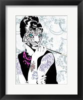 Framed Smoking Diva