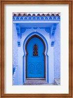 Framed Morocco, Chefchaouen A Traditional Door