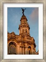 Framed Cuba, Havana, Historic Building