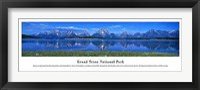 Framed Grand Teton National Park