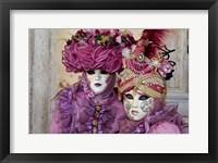 Framed Venice At Carnival Time, Italy