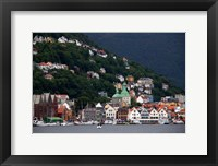 Framed Norway, Bergen Bergen Harbour