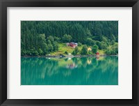 Framed Wooden Farmhouses Architecture Olden Norway