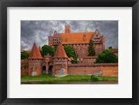 Framed Poland, Malbork Medieval Malbork Castle