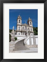Framed Portugal, Braga, Tenoes, Portuguese Pilgrimage Site, Good Jesus Of The Mount