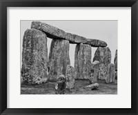 Framed Stonehenge England