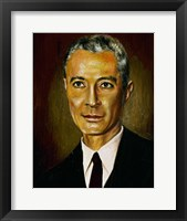 Framed Oppenheimer, Julius Robert (New York, 1904-Princeton, 1967)