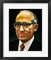 Framed Salk, Jonas (1914-1995)
