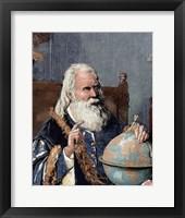 Framed Galileo Galilei (1564-1642)
