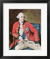Framed George Iii (London, 1738-Windsor, 1820)