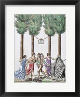 Framed Allegory Of The French Revolution French