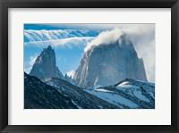 Framed Mount Fitzroy, El Chalten, Argentina