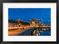 Framed Bright Light, San Diego Skyline
