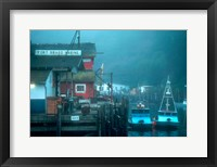 Framed Fort Bragg Fishing Boats