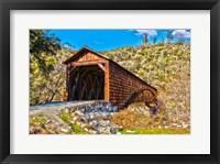 Framed Bridgeport Covered Bridge Penn Valley, California