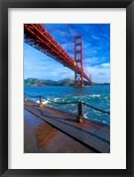 Framed Beneath The Golden Gate Bridge