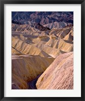 Framed California, Death Valley NP, At Zabriskie Point