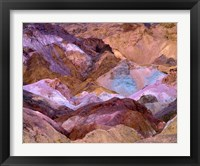 Framed California, Death Valley Np, Artist's Palette