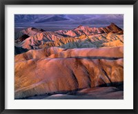 Framed Eroded Mudstone, Death Valley Np, California
